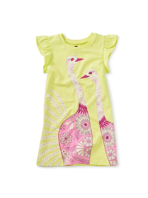 Tulip Sleeve Mini Dress