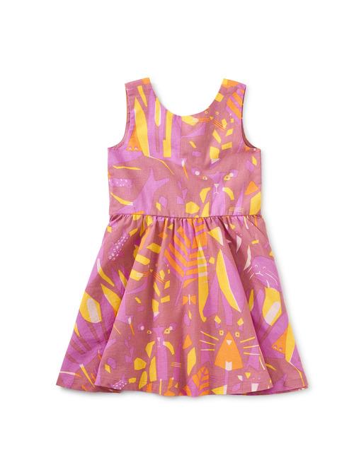 Inês Machado Bow Back Dress