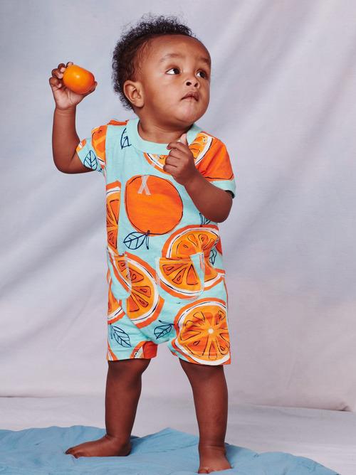 Pocket Shortie Baby Romper