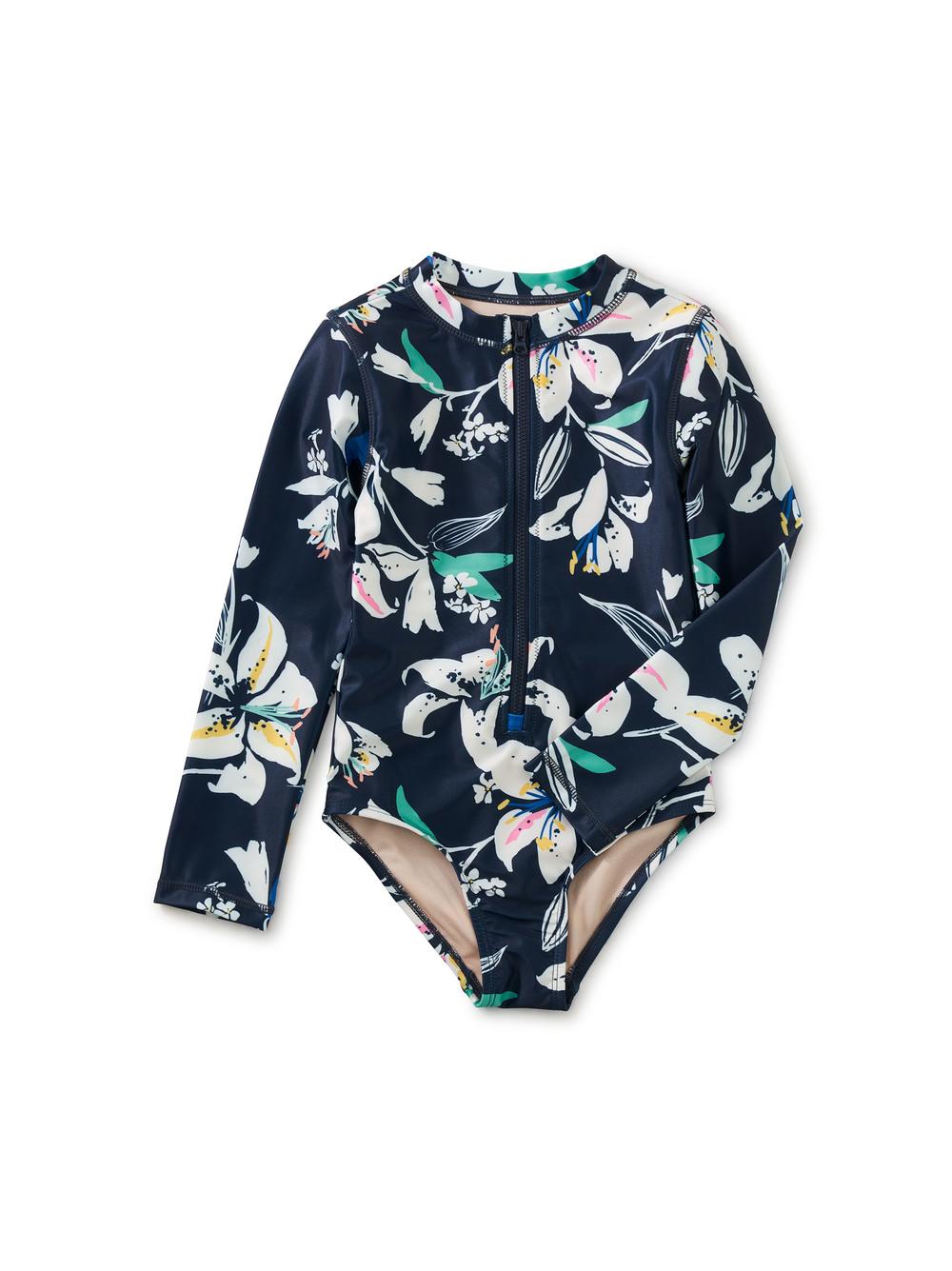 Long Sleeve One-Piece Swimsuit