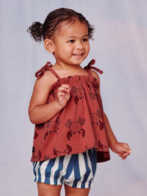 Costa Tie Shoulder Baby Set