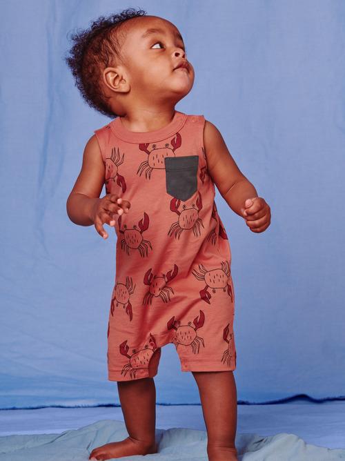 Pop Pocket Tank Baby Romper