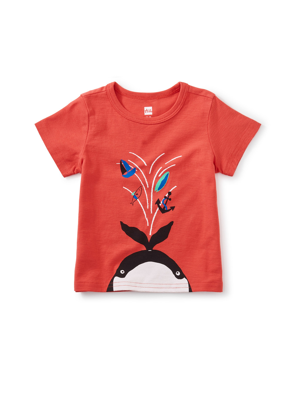 Whale Spout Baby Graphic Tee