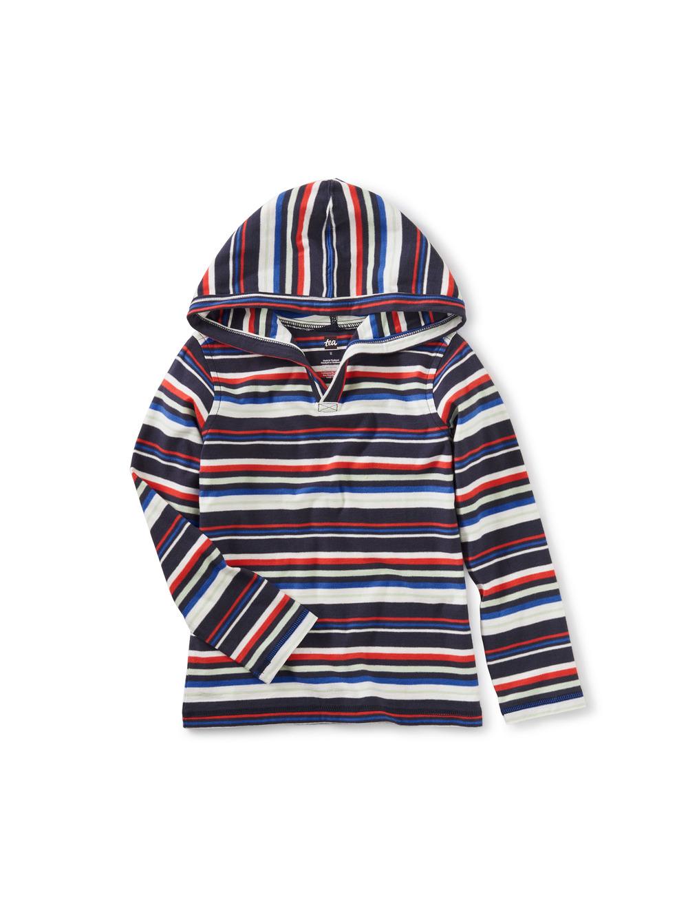 Happy Hoodie in Stripes