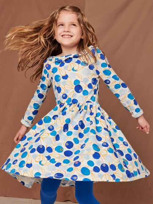 Ruffle Collar Ballet Dress