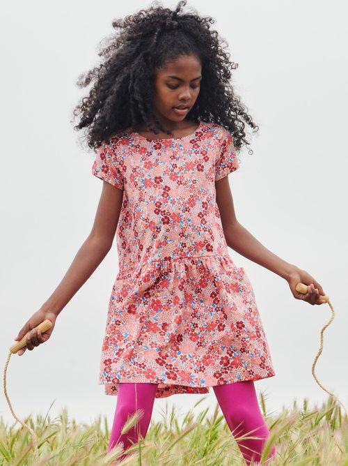 Short Sleeve Pocket Dress
