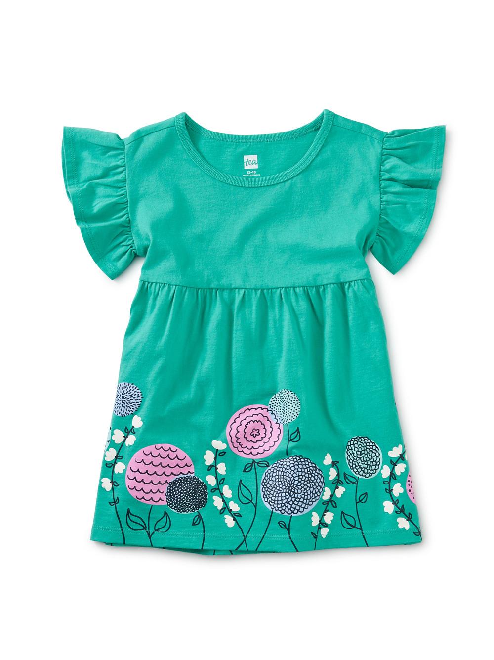 Lora Graphic Baby Dress