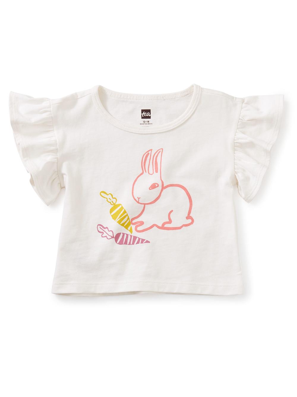 Bunny Flutter Sleeve Tee