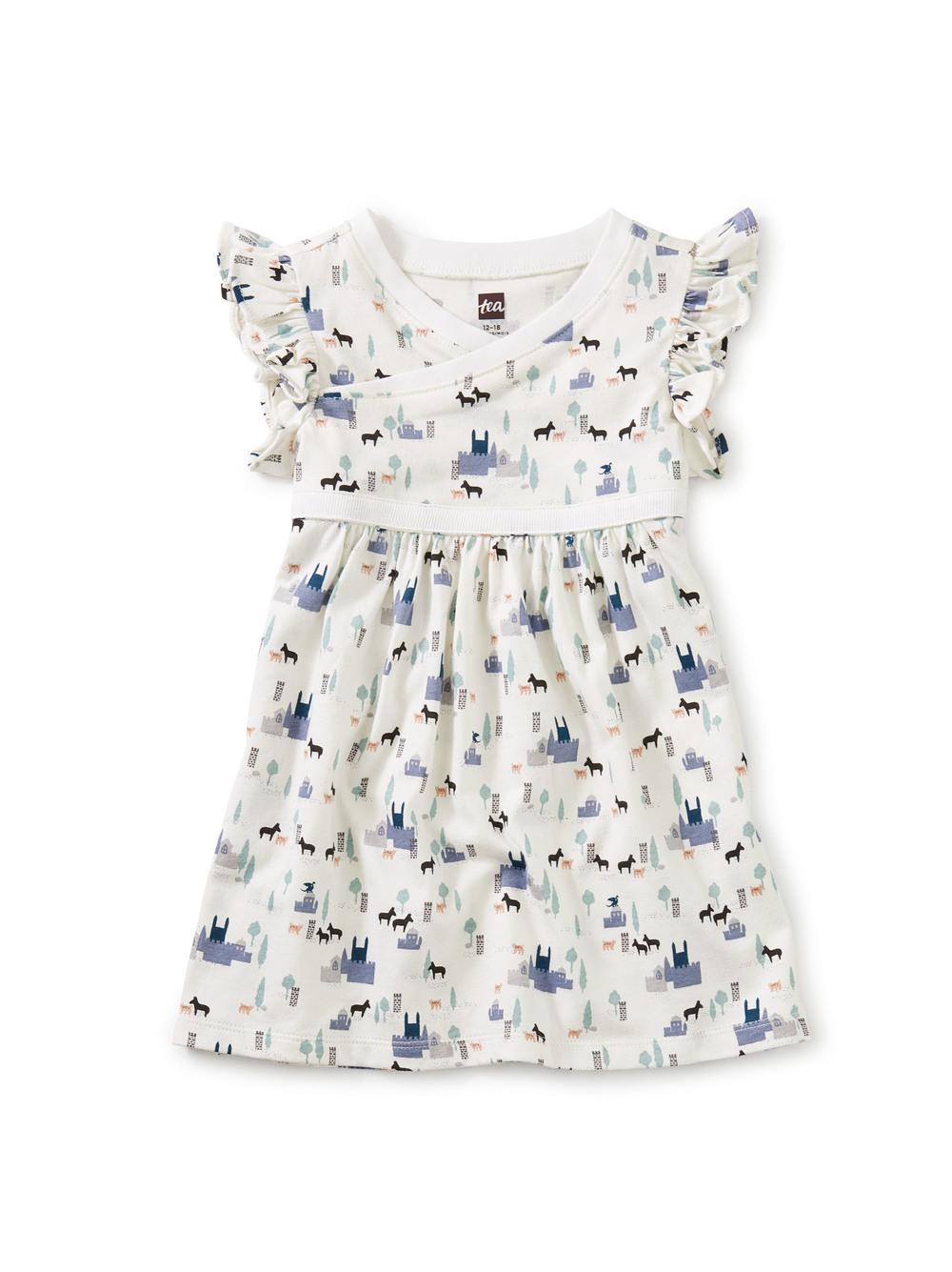 Wrap Neck Baby Dress
