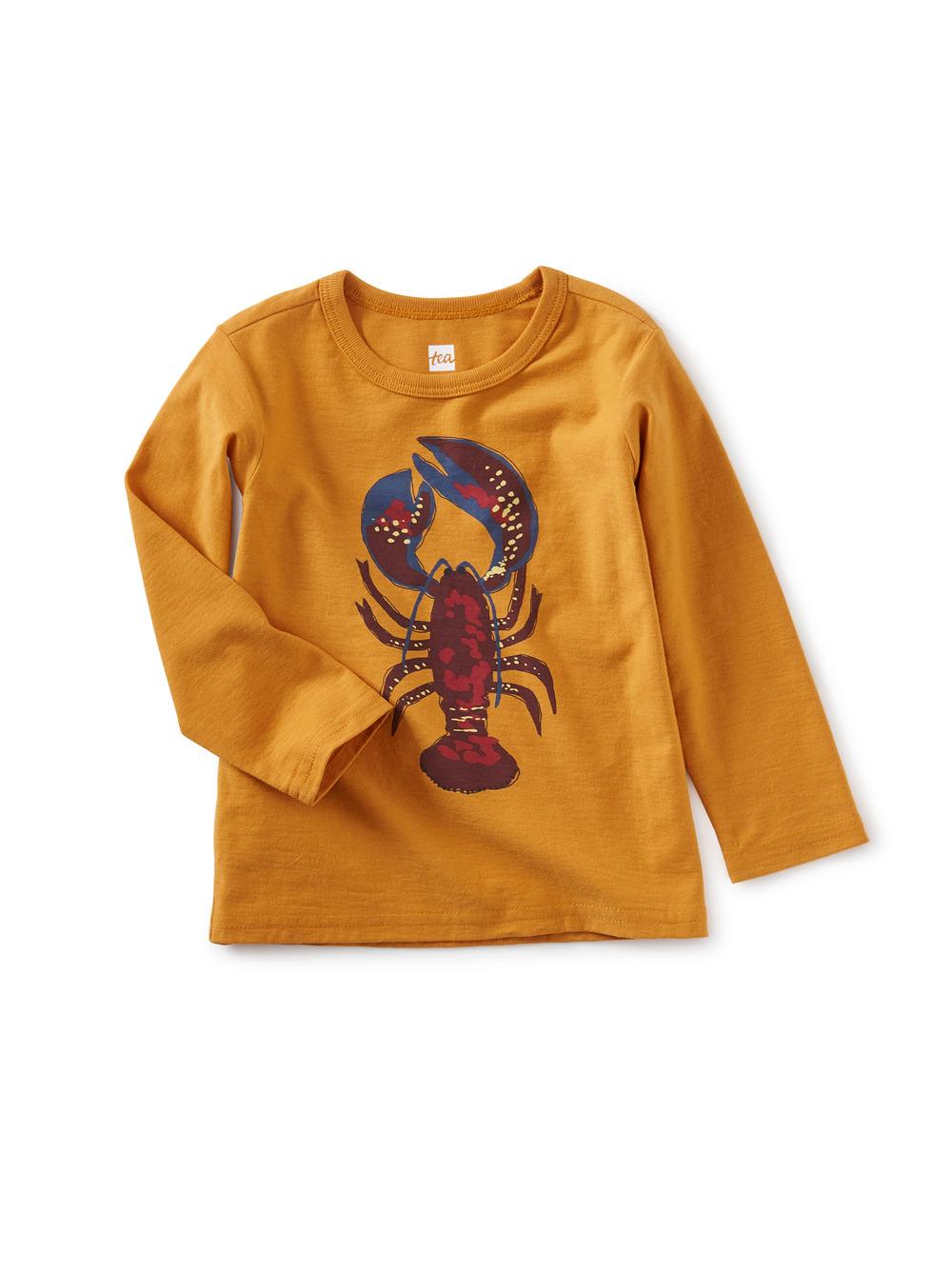 Li'l Lobster Baby Graphic Tee