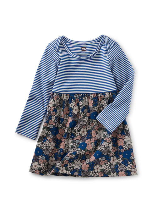 Print Mix Baby Dress