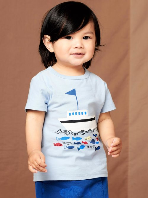 Seas the Day Baby Graphic Tee