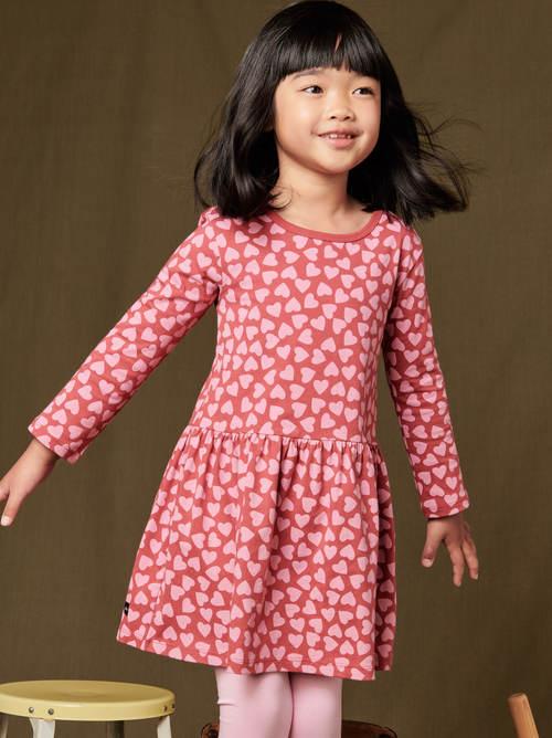 Long Sleeve Skirted Dress