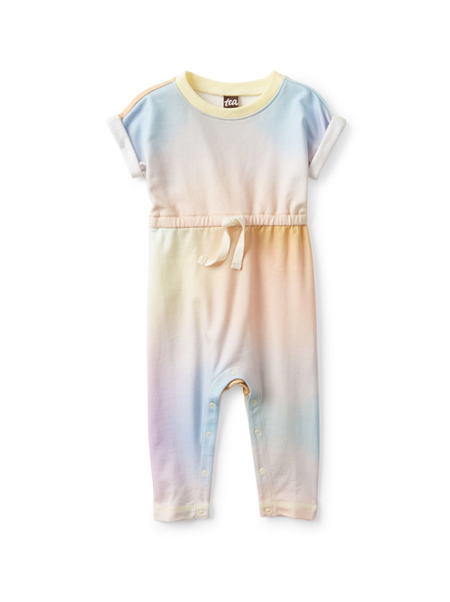 Rolled Sleeve Baby Romper