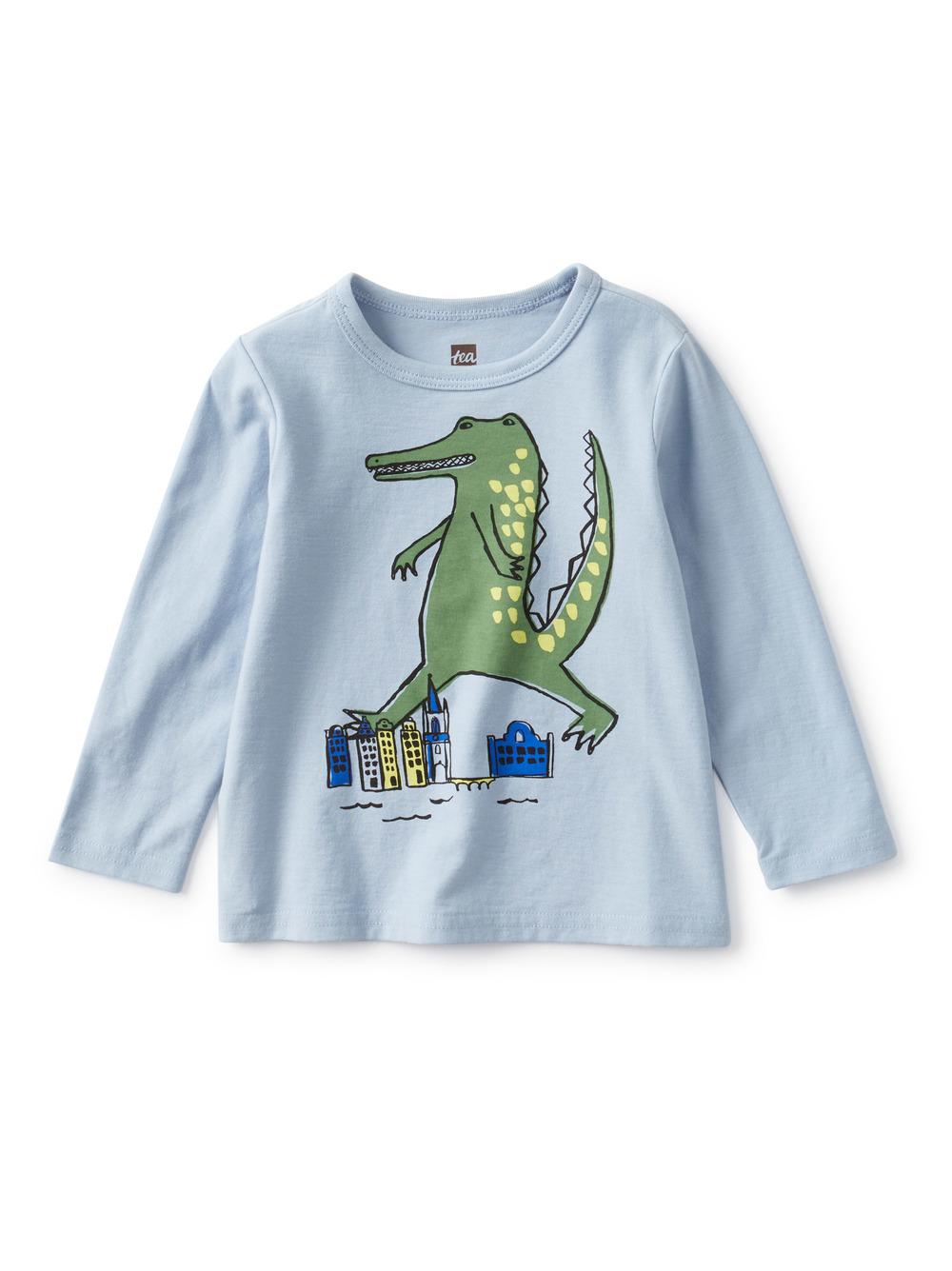 Stompin' Croc Baby Graphic Tee