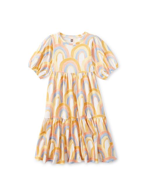 Flowy Tiered Midi Dress