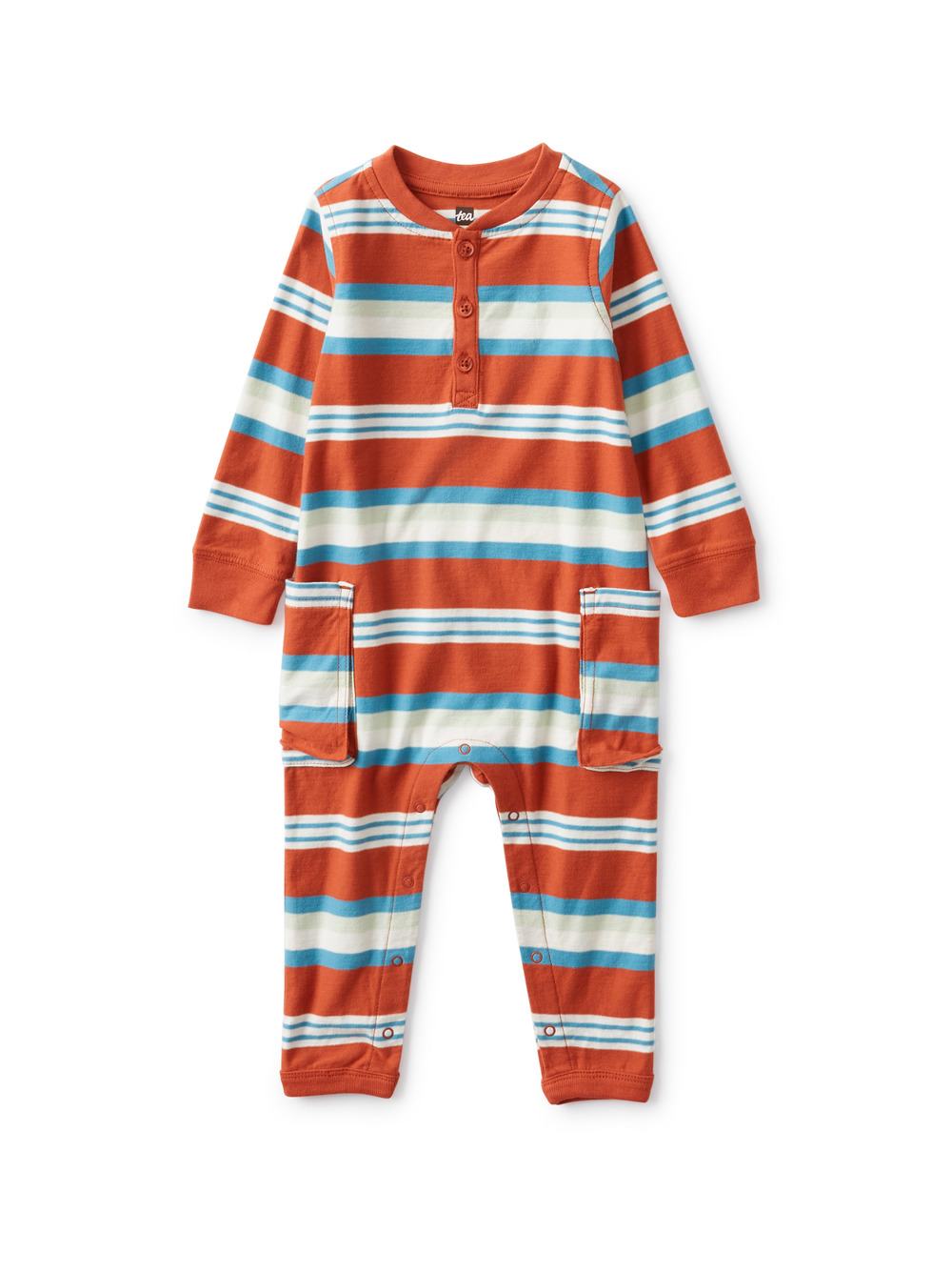 Cargo Pocket Baby Romper