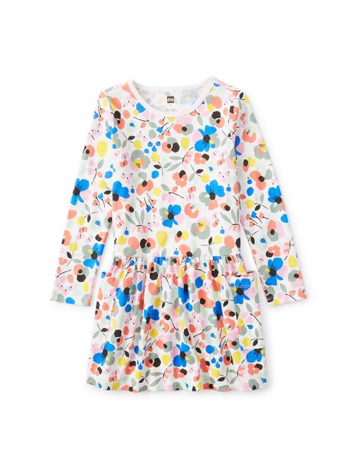 Long Sleeve Pocket Dress