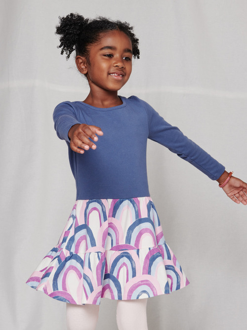 Tiered Skirted Dress