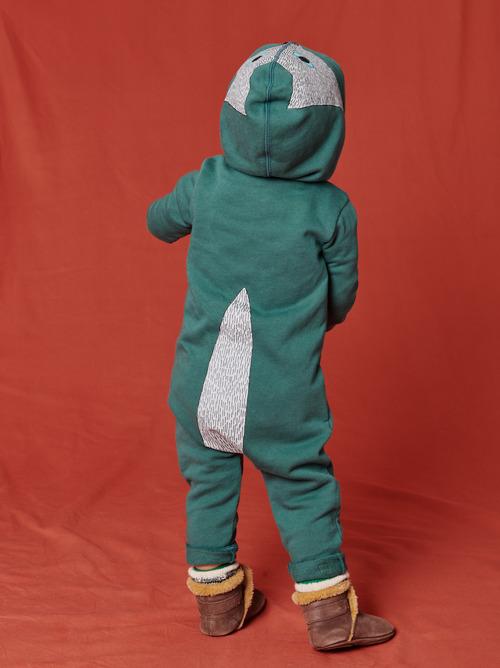 Howl Cute Hooded Baby Romper