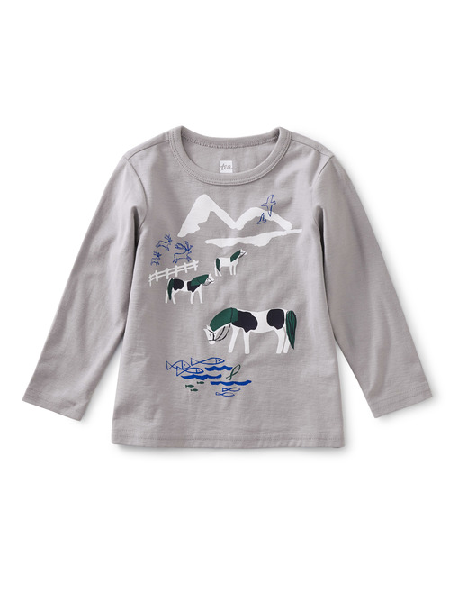 Yay or Neigh Baby Graphic Tee