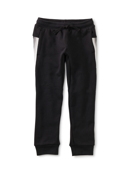 Stripe-Out Joggers