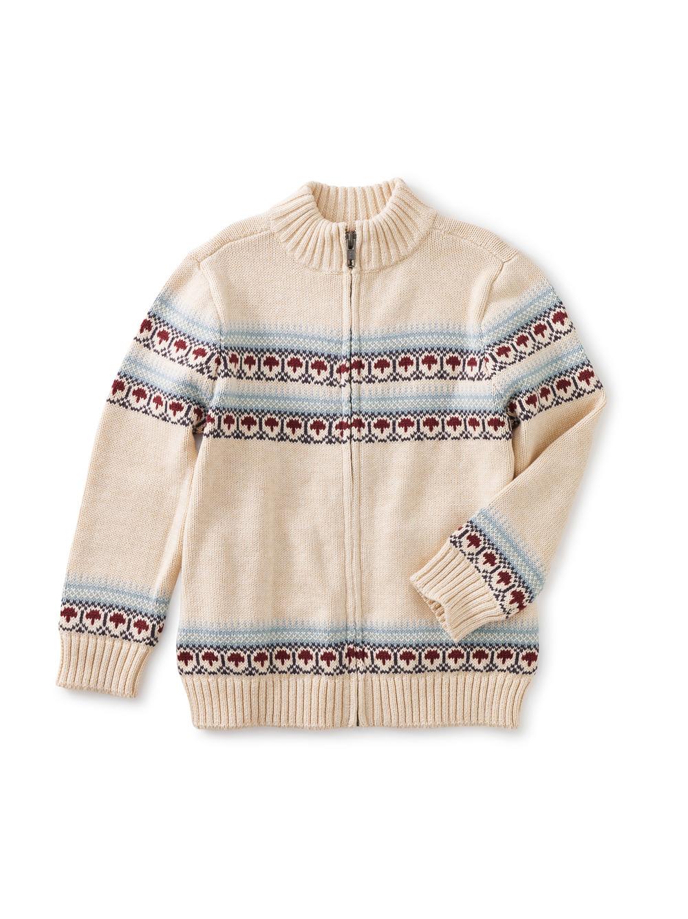 Toasty Traveler Zip Sweater