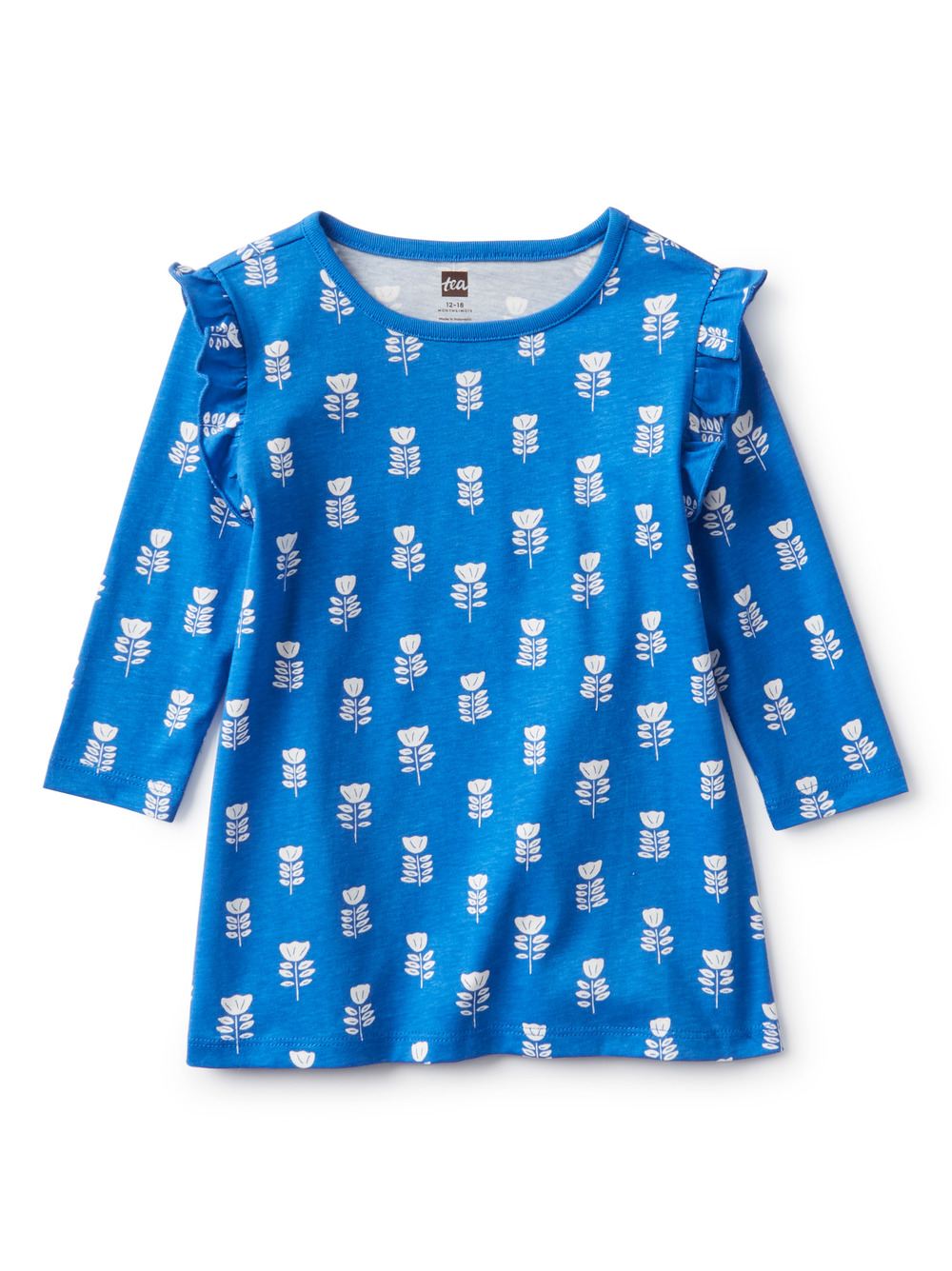 Baby Ruffle Shoulder Dress