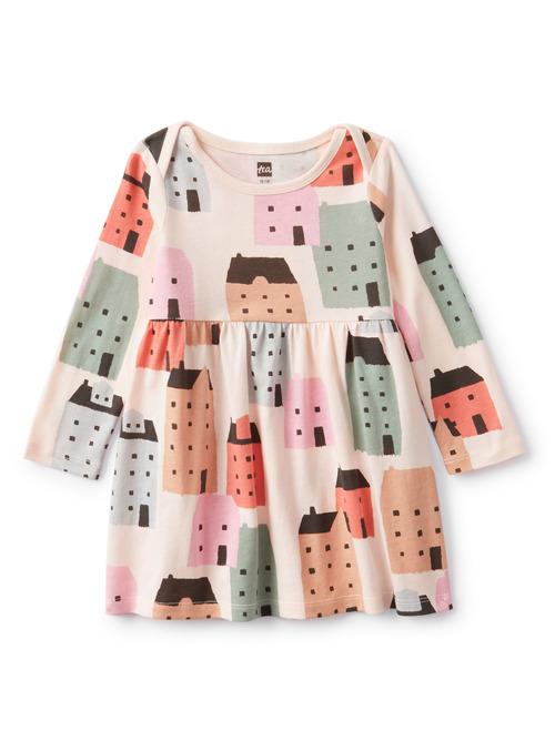 Baby Long Sleeve Skirted Dress