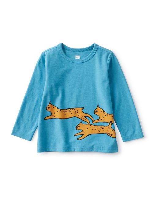 Running Wildcats Baby Graphic