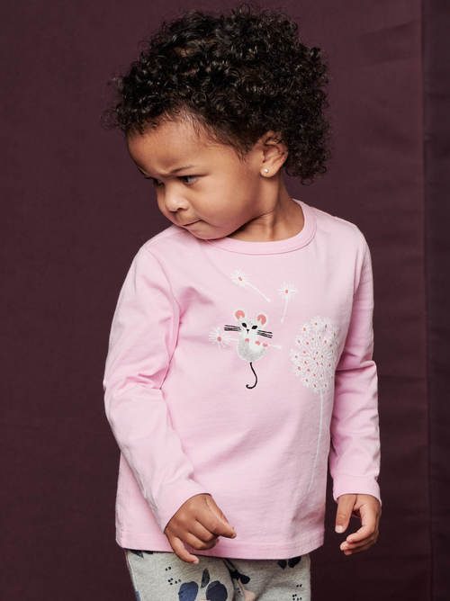 Little Mouse Baby Graphic Tee
