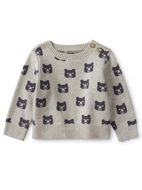 Beary Cozy Baby Sweater