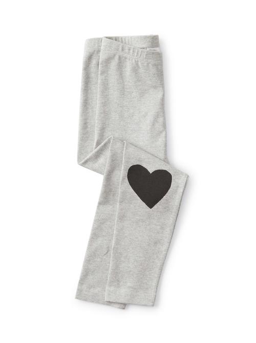 Heart Knees Printed Leggings