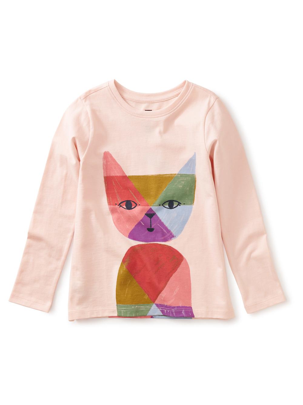 Rainbow Cat Graphic Tee