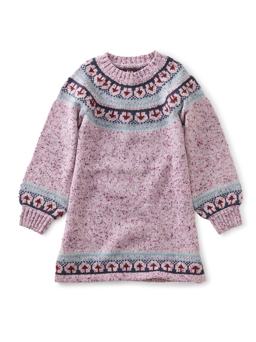 Fairisle Sweater Dress