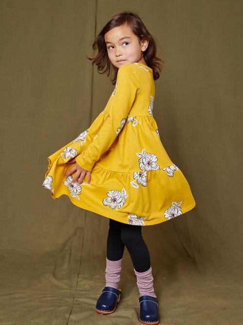 Tiered Henley Dress