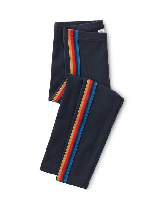 Rainbow Side Stripe Leggings