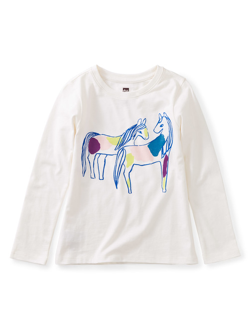 Spotted Horses Graphic Tee