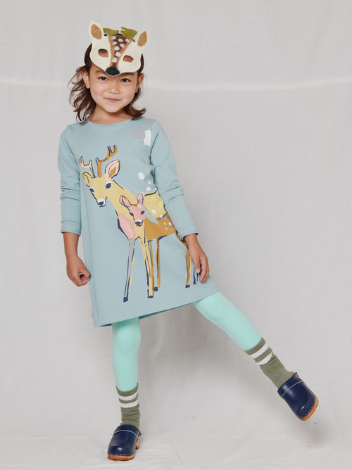Deer Duo T-Shirt Dress
