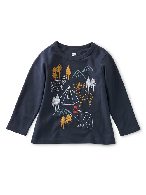 Camping Adventure Baby Graphic Tee