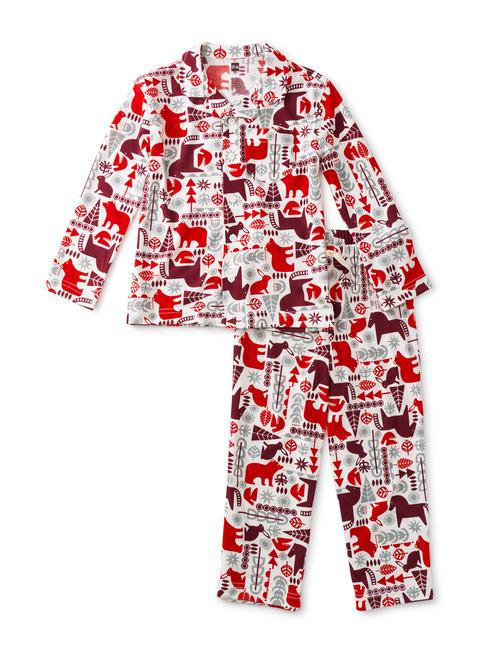 Button Up Pajama Set