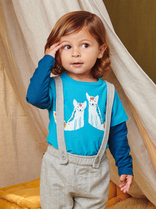 Brave Foxes Baby Graphic Tee