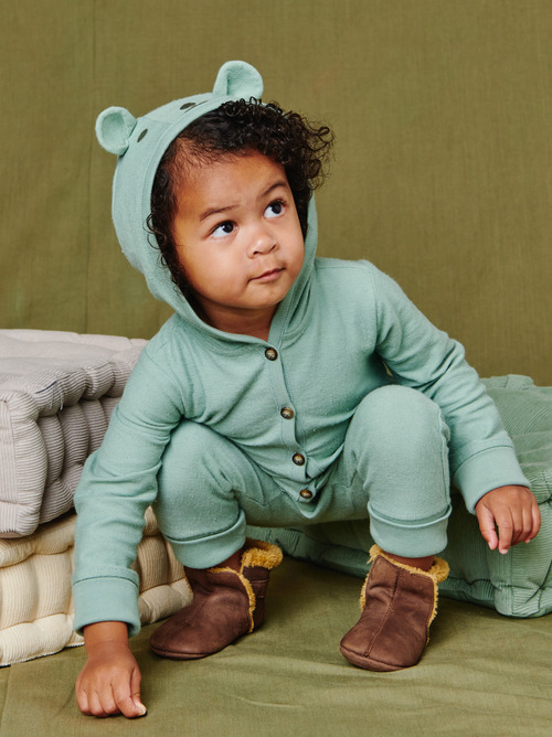 Forest Friend Hooded Romper