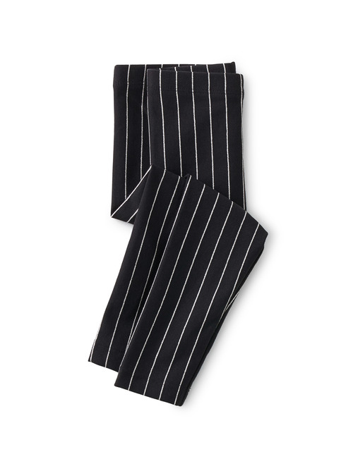 Metallic Stripe Baby Leggings