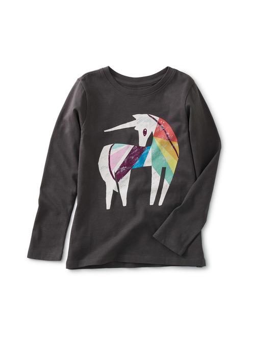 Rainbow Unicorn Graphic Tee
