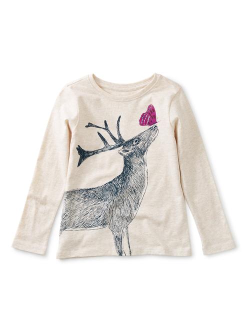 Winter Deer Graphic Tee