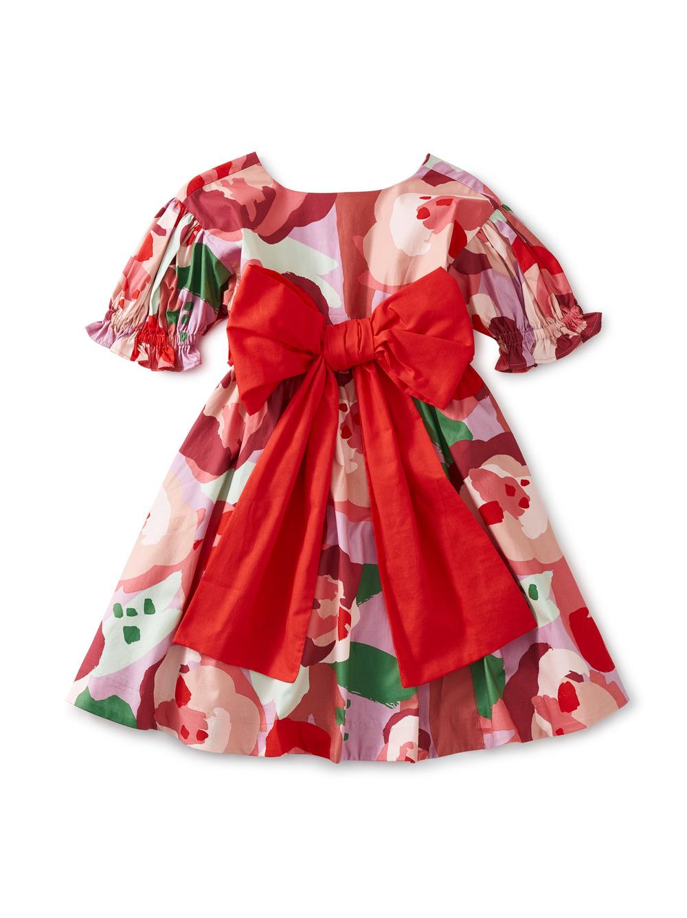 Floral Sash Dress