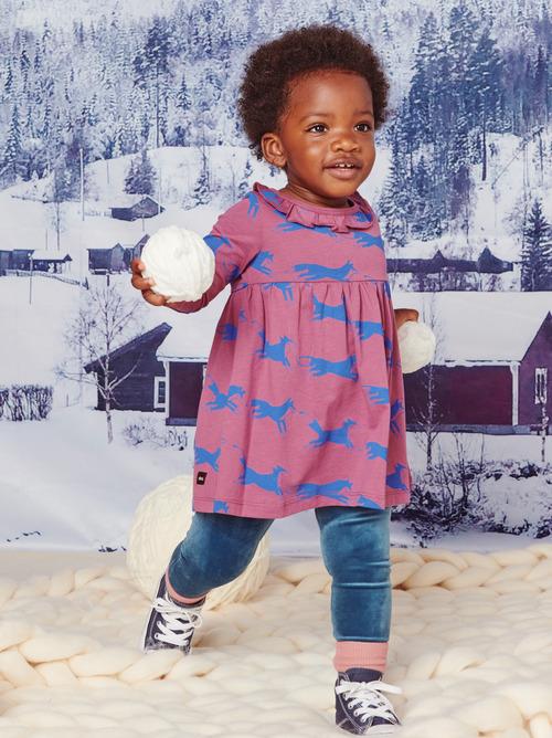 Baby Empire Collar Dress