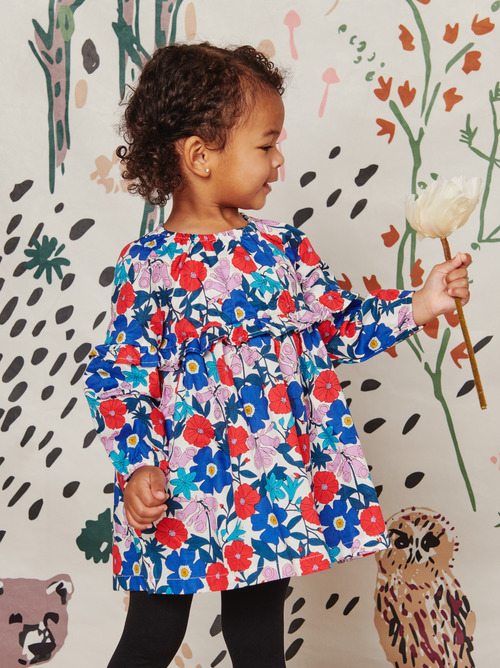 Baby Floral Empire Dress