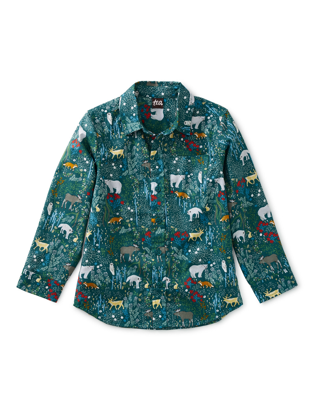 Swedish Forest Button Up Shirt
